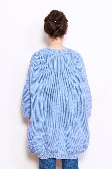 Mr. Mittens Jacqueline Wool Sweater - Placid Blue