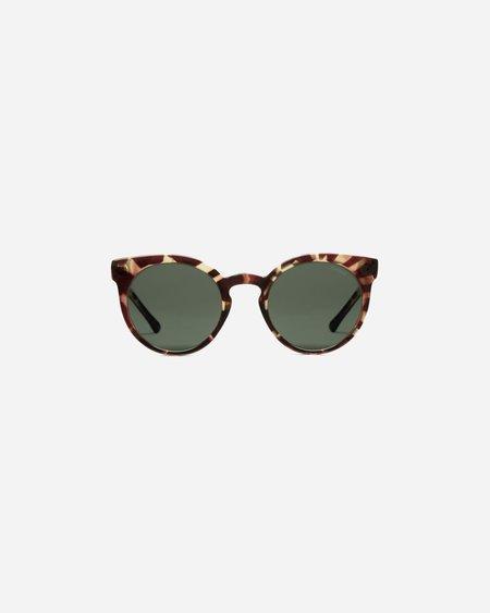 KOMONO Lulu Sunglasses - Crystal/Giraffe