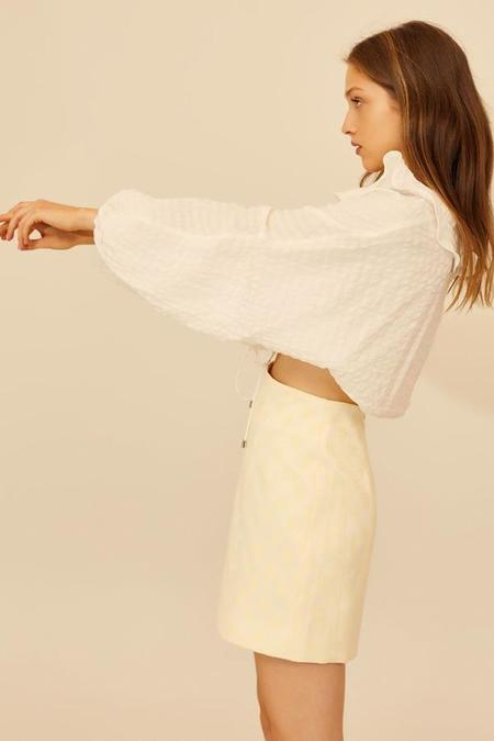 Cameo Distinct Top - Ivory