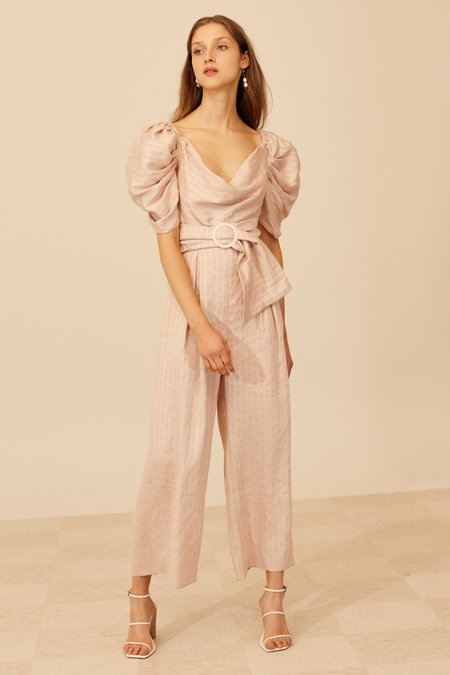Cameo Through You Jumpsuit - Shell