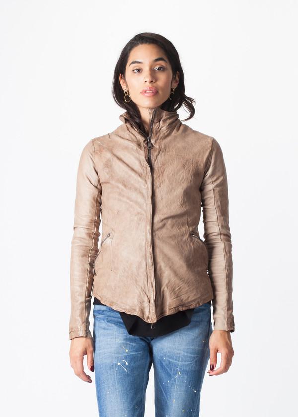 Giorgio Brato V Waist Leather Jacket