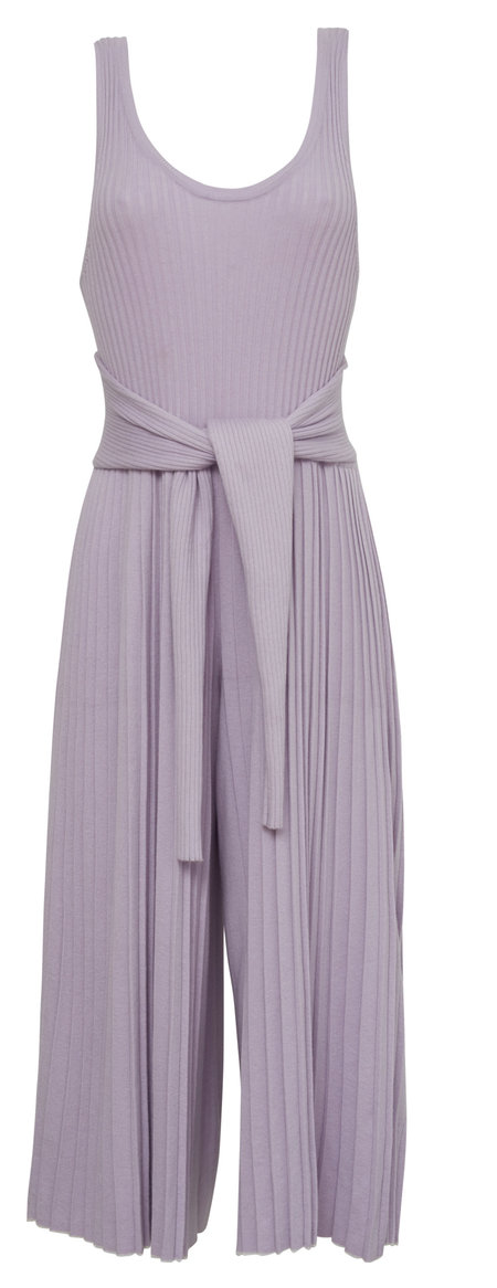 95c7e742f5e ... ELEVEN SIX SELINA JUMPSUIT - LILAC WITH CHALK TIPPING