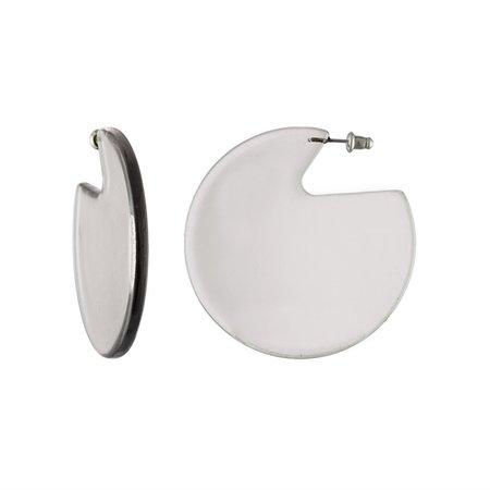 Machete Clare Earrings - Crystal Clear