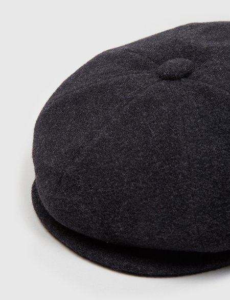 Bailey Hats Galvin Wool Newsboy Cap - Grey ... 3faf635b8173