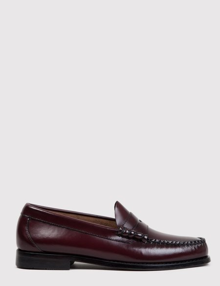 Bass Weejun Larson Penny Loafers - Wine