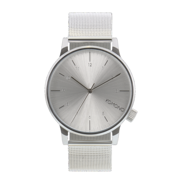 KOMONO Watch  WINSTON - ROYALE ARGENT