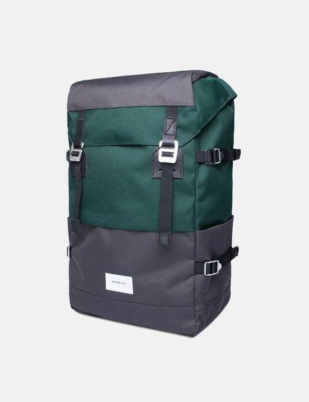 Sandqvist Harald Backpack - Deep Green/Dark Grey