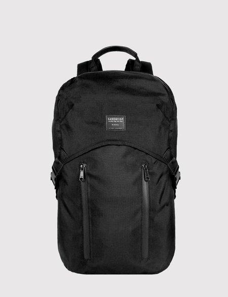 Sandqvist Leo Ripstop Backpack - Black