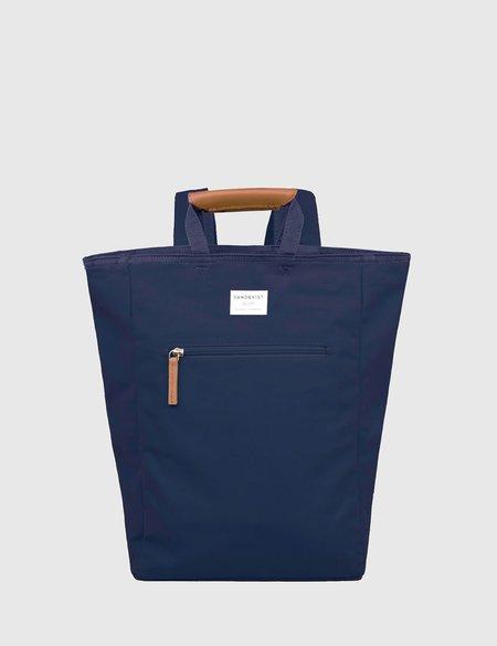 Sandqvist Tony Tote Bag in Canvas - Blue