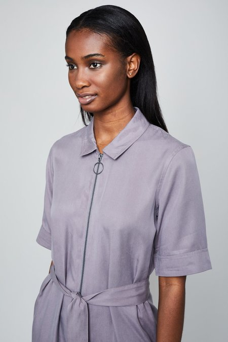 Native Youth THE MAE JUMPSUIT - Mauve Grey
