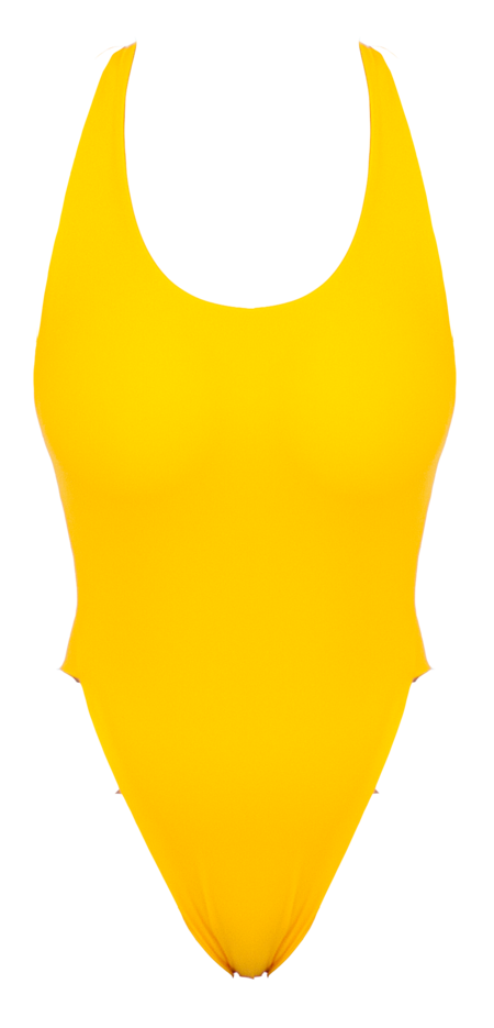 The Saltwater Collective Christina One Piece - Citrus