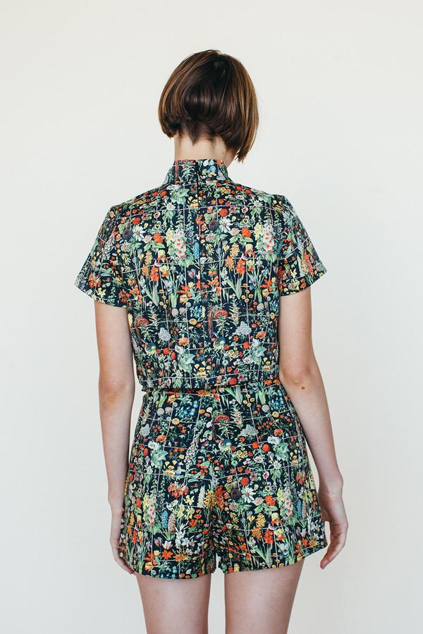 Samantha Pleet Shooting Star Shorts - Floral Print