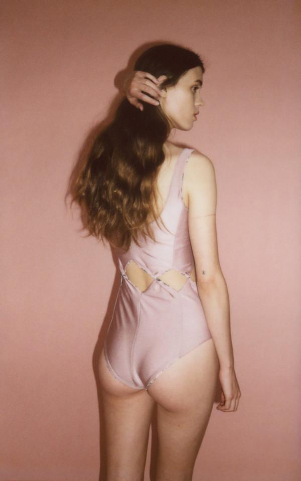 Samantha Pleet Tabernacle swim suit - rose