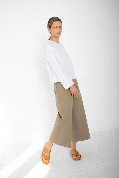 Studio Nicholson Petrov Wide Leg Drop Pocket Pants - Khaki