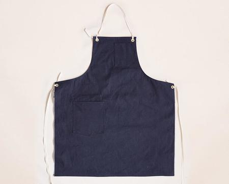 Stanley & Sons Selvage Duck Cloth Strap Standard Apron - Indigo