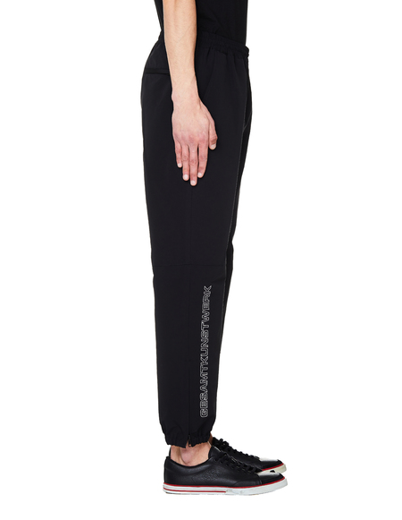 JohnUndercover Embroidered Track Pants - Black