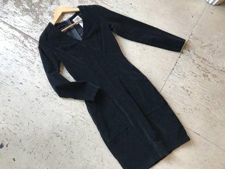 Prairie Underground Fuzzbox Dress - black