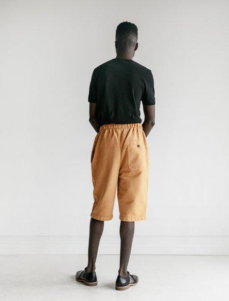 Lemaire Jersey Shorts - Ochre
