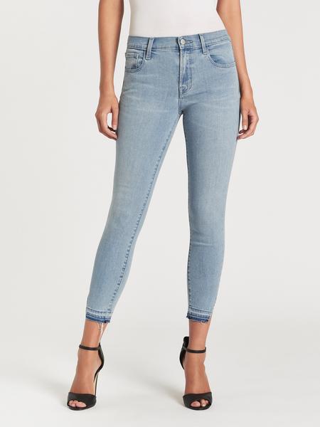 J Brand 835 Mid Rise Crop Skinny Jean - Verity