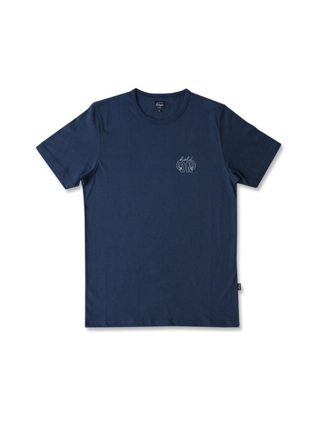 Ceizer Hold On Embroidery T - Navy