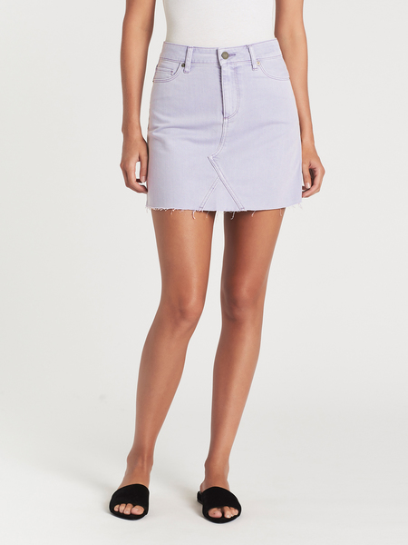Paige Aideen Skirt - Vintage Lavender Fog