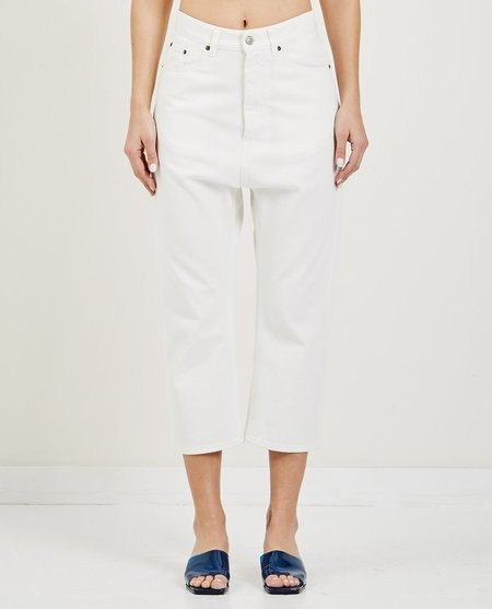 MM6 DROPPED INSEAM JEAN - OFF WHITE