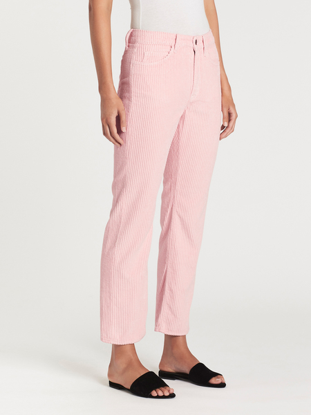 MiH Jeans Daily Crop Cord Pant - Fluffy Pink