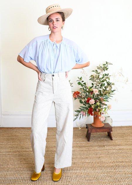 Gravel & Gold Placer Linen Pant - Stripe