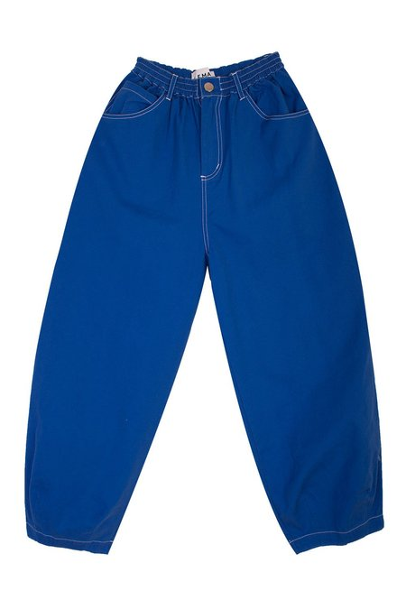 L.F.Markey Fat Boys Canvas - Cobalt Blue