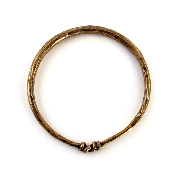 Laurel Hill Knotted Bangle