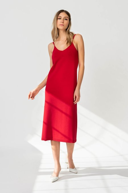 MILA ZOVKO PETRA Dress - Apple Red