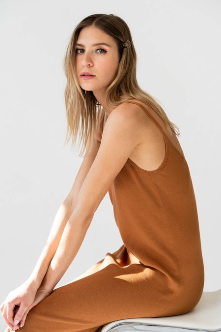 MILA ZOVKO PETRA Dress - Caramel