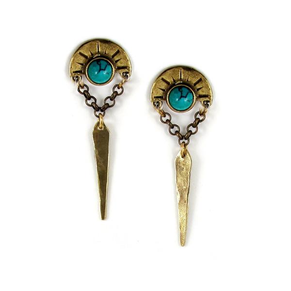 Laurel Hill Oracle Point Earrings