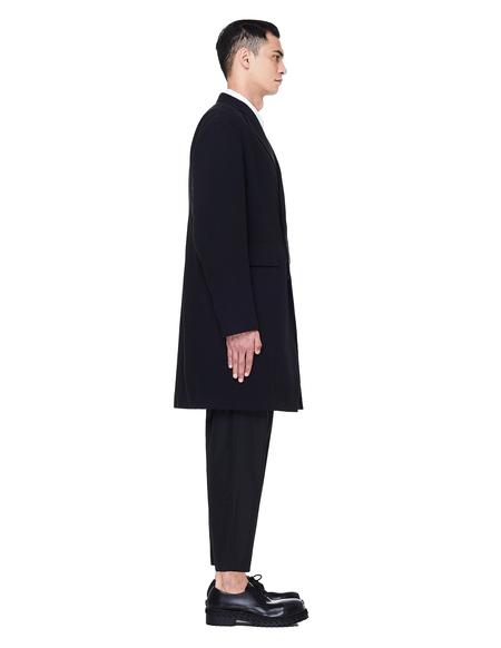 Julius Black Cotton Coat - Black