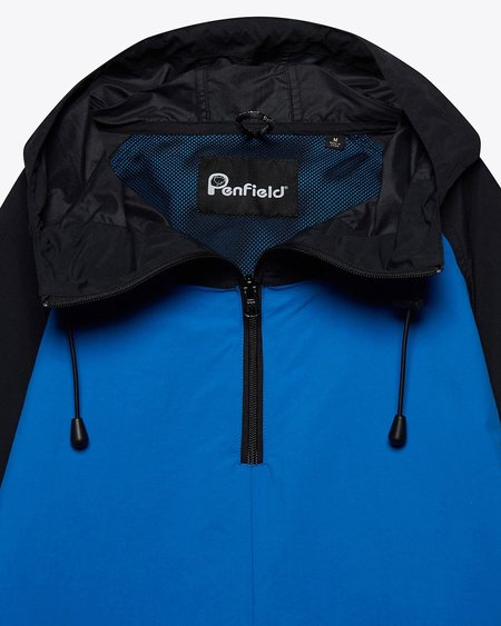 Penfield Pacjac Colourblock Jacket - Bright Blue