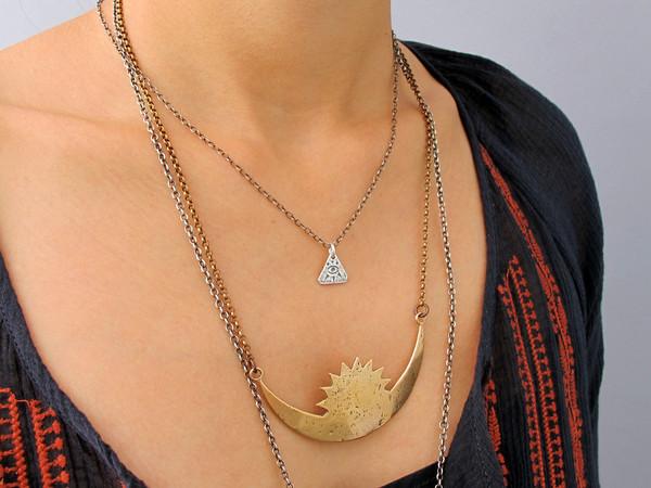 Laurel Hill Third Eye Necklace