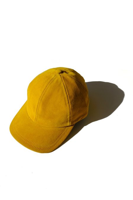 Jujumade Suede Cap - Mustard