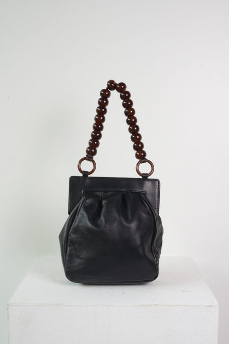 Maryam Nassir Zadeh Glow Purse in Black