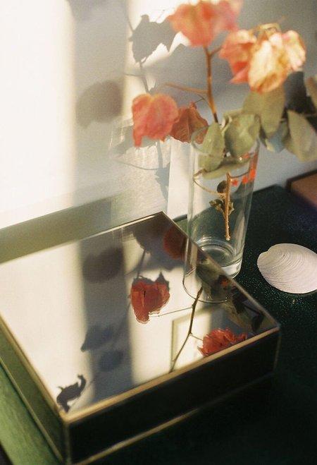 Antique Mirror Container 11 - Fume