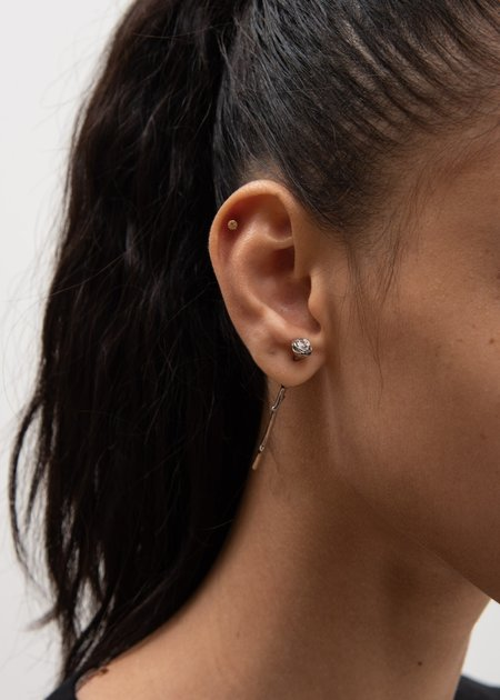 Alan Crocetti Rosetta Earring - Silver