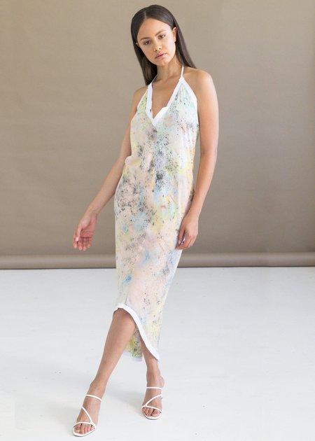 W35T Yes Halter Dress - pastel
