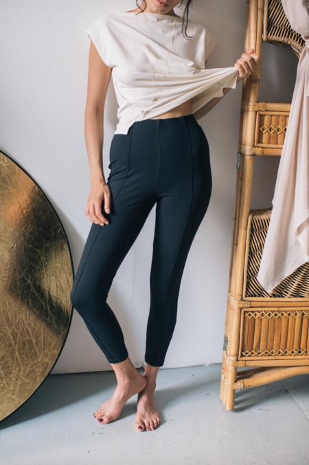 Cossac organic cotton leggings - black