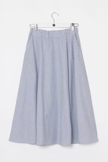 9da0baef0619 Elsien Gringhuis skirt wide - light blue stripes ...