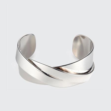 Jenny Bird Lovers Cuff - silver