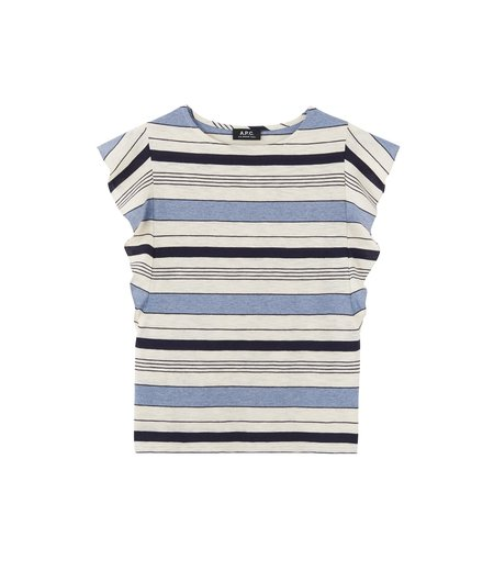 A.P.C. Zita T-Shirt - Multi-Stripe