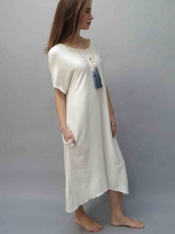 BIG FUN THING Fleece Maxi Dress