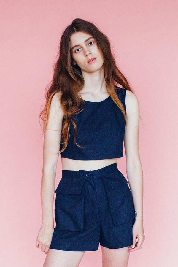 Samantha Pleet Park shorts - Navy