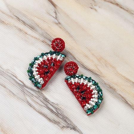 Deepa Gurnani Fruit Earring