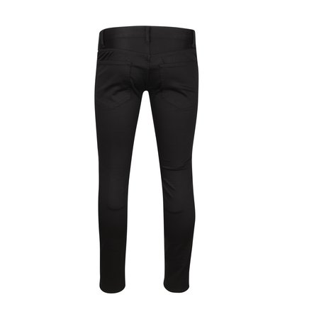 JohnUNDERCOVER Embroidered 3D Studded Pants - Black