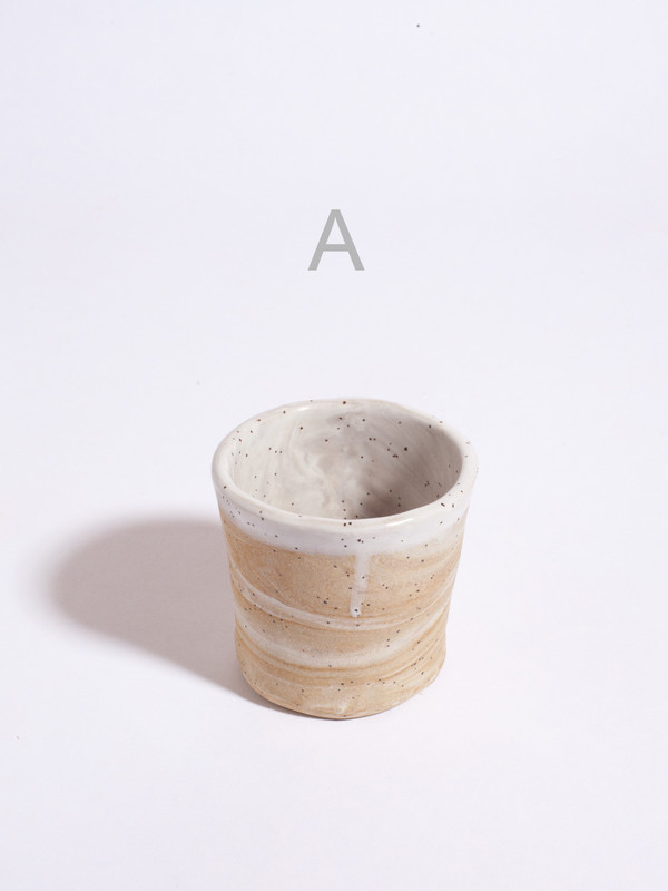 The Pursuits of Happiness Small Marbled Vessel